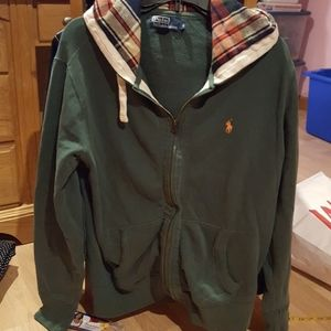 Polo by RL Zip Front Hoodie